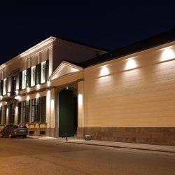 Trempoline façade